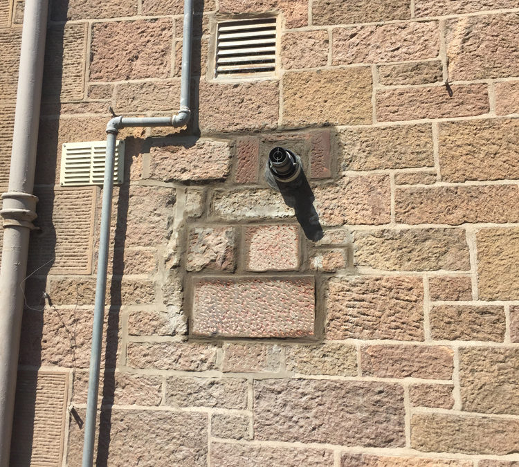 Before and After: North Berwick Stone Repair