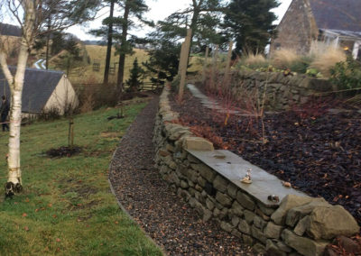 Dry stane dyke After
