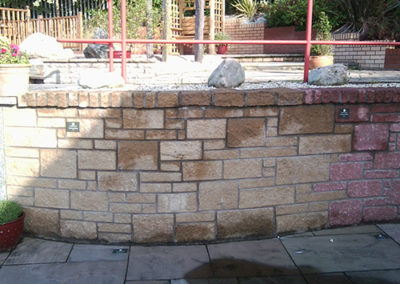 stone wall dalkeith