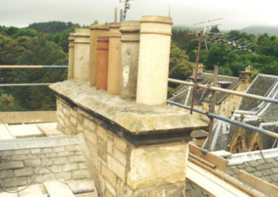 chimney stone repair edinburgh