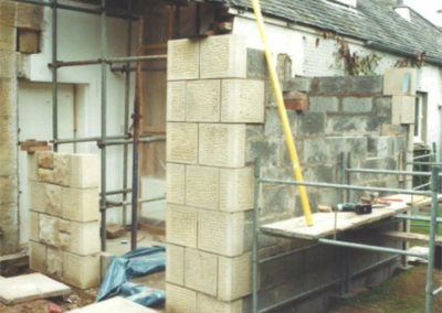 stone wall repairs edinburgh